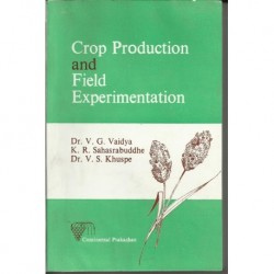 Crop production and field exprimentation